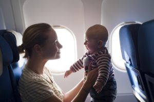 flying with your baby
